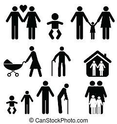 leven, gezin