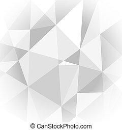 licht, abstract, grijze , achtergrond, geometrisch