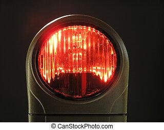 licht, rood