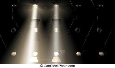 lichten, concert, overstroming