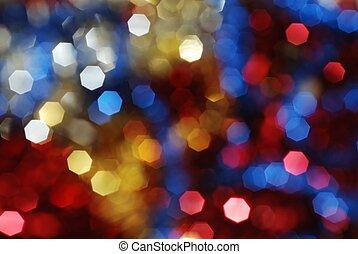lichten, kleurrijke