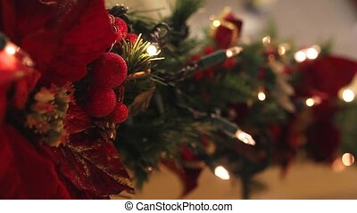 lichten, vakantie, kerstmis, het knipperen