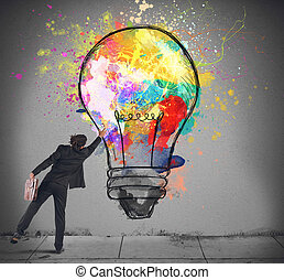 lightbulb, kleuren
