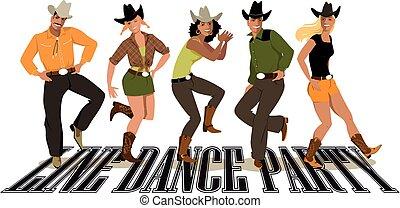 lijnen dans