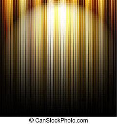 lijnen, goud, achtergrond