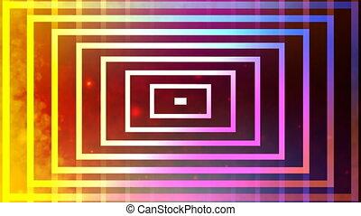 lijnen, veelkleurig, abstract
