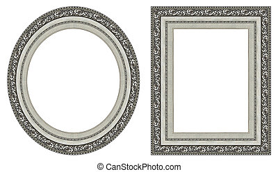 lijstjes, afbeelding, zilver