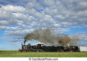 locomotieven, stoom