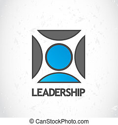 logo, bewindvoering, ontwerp
