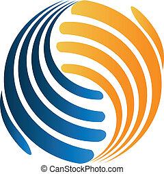 logo, handshaking, zakelijk