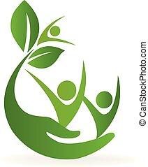 logo, natuur, gezondheidszorg
