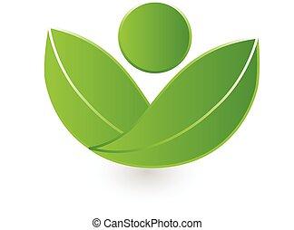 logo, natuur, vector, gezondheid