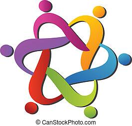 logo, portie, team