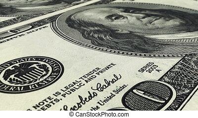 (loop), dollars, achtergrond
