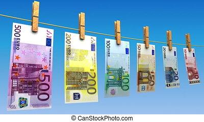 (loop), drogen, eurobiljetten