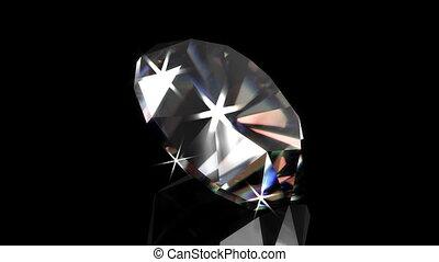 loopable, ronddraaien, diamant