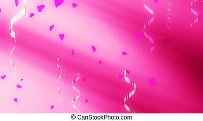lus, confetti, liefde