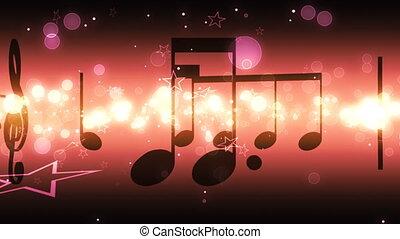 lus, sterretjes, opmerkingen, muziek