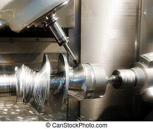 machine, boren, workpiece