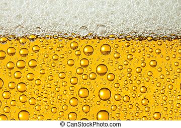 macro, bier, bezig met vernieuwen