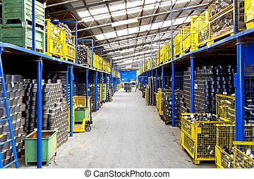 magazijn, industrie