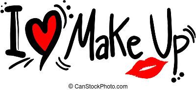 makeup, liefde