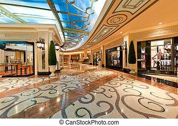 mall, moderne, shoppen , luxe