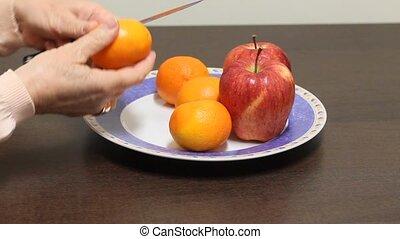 mandarijn, tangerine.