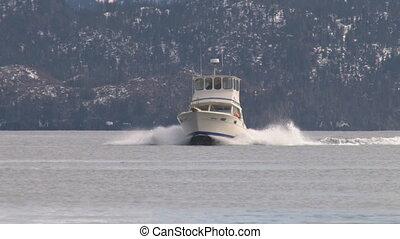 maneuvering, 2, visserboot