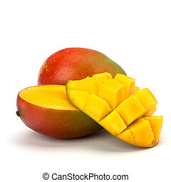 mango, fruit