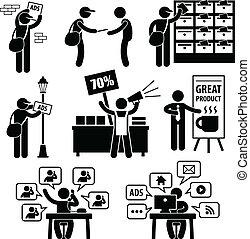 marketing, advertentie, strategie
