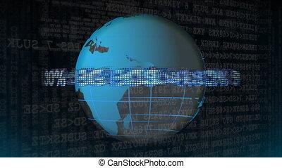 markt, aandeel ticker, globe
