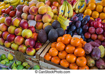 markt, groentes