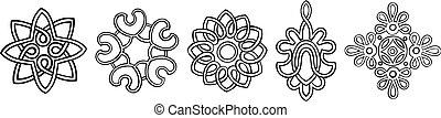 medailles, stylised