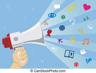 media, communicatie, sociaal