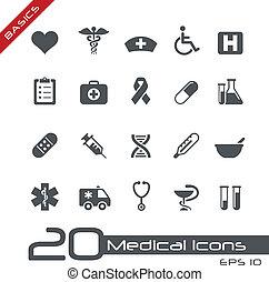 //, medische grondbeginselen, iconen