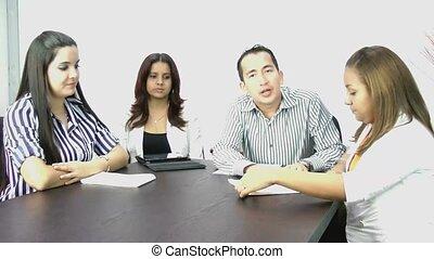 meeting;, videoconferentie, zakelijk