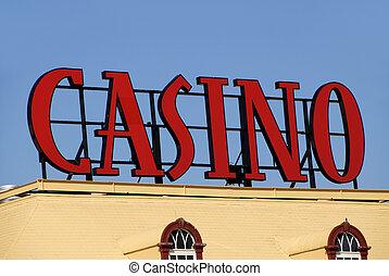 meldingsbord, casino