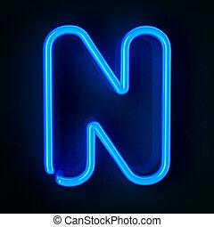 meldingsbord, neon, brief n