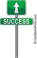 meldingsbord, vector, succes, /