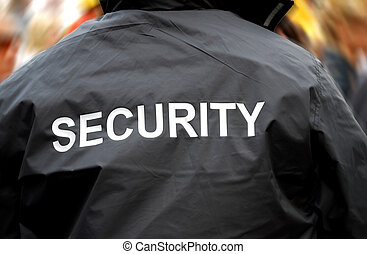 menigte, back, vaag, conducteur, voorkant, veiligheid