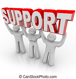 mensen, steun, tijden, last, jouw, het tilen, moeilijk