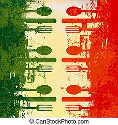 menu mal, italiaanse
