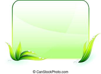 milieubescherming, groene achtergrond