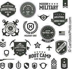 militair, kentekens