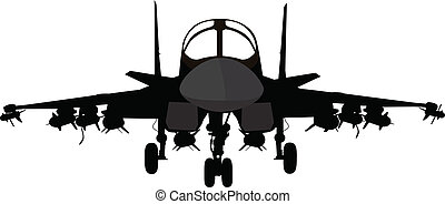 militair vliegtuig