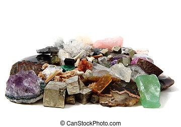 mineraal, verzameling