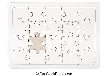 missende , puzzelstuk, jigsaw