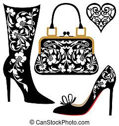 mode, illustratie