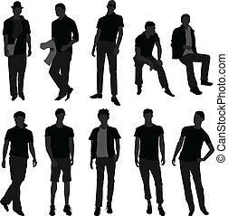 mode, shoppen , mannen, model, mannelijke , man